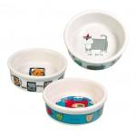 Castron Ceramic 4buc/200ml Alb 4008